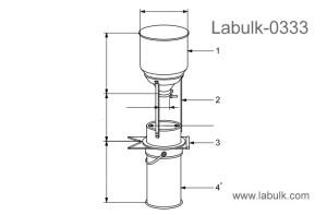 ISO 7971-3 Cereals - Determination of bulk density, called mass per hectolitre - Part 3 Routine Method Bulk Density Tester
